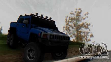 Hummer H6 Sut Pickup para GTA San Andreas
