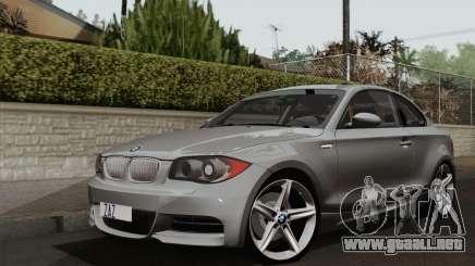 BMW 135i 2009 para GTA San Andreas