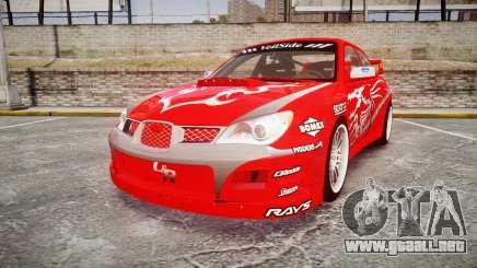 Subaru Impreza WRX STI Street Racer para GTA 4