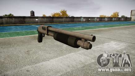 Riot escopeta Mossberg 500 icon3 para GTA 4