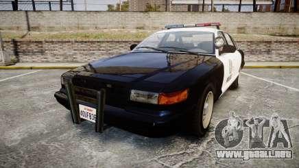 Vapid Police Cruiser GTA V LED [ELS] para GTA 4