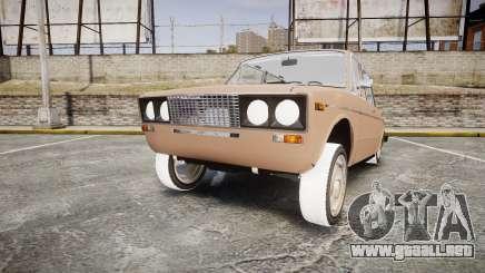 VAZ-2106 hooligan estilo de azerbaiyán para GTA 4