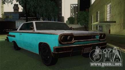 Declasse Voodoo para GTA San Andreas