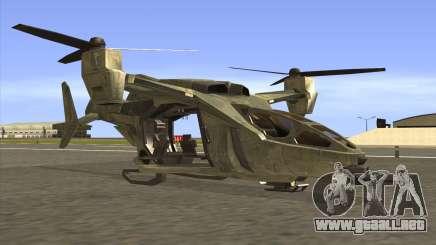 HELO4 Future Hunter para GTA San Andreas