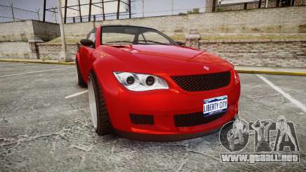GTA V Ubermacht Sentinel XS para GTA 4