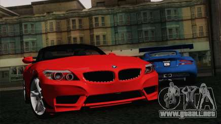 BMW Z4 sDrive28i 2012 Racing para GTA San Andreas