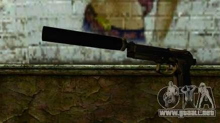 Beretta M9 Silenced para GTA San Andreas