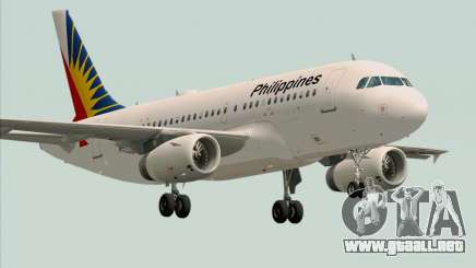 Airbus A319-112 Philippine Airlines para GTA San Andreas