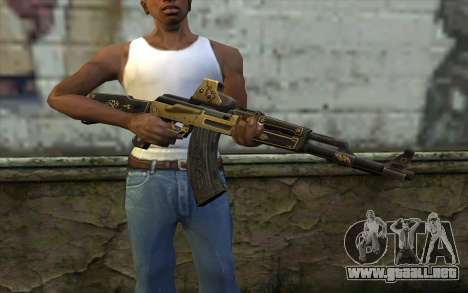AK47 from PointBlank v2 para GTA San Andreas tercera pantalla