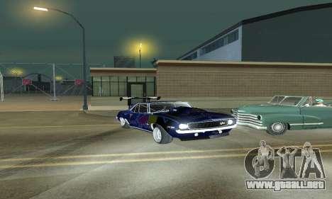 Chevrolet Camaro SS RedBull para GTA San Andreas