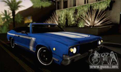 Sabre Convertible v1.0 para GTA San Andreas