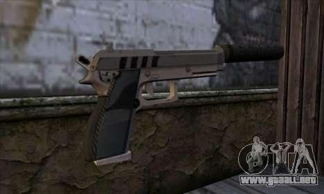 Silenced Pistol from GTA 5 para GTA San Andreas segunda pantalla