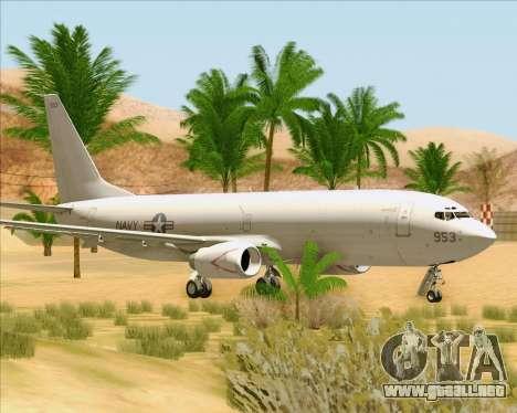 Boeing P-8 Poseidon US Navy para GTA San Andreas left