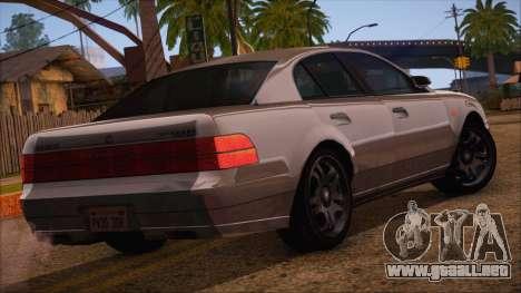 GTA 5 Intruder para GTA San Andreas left