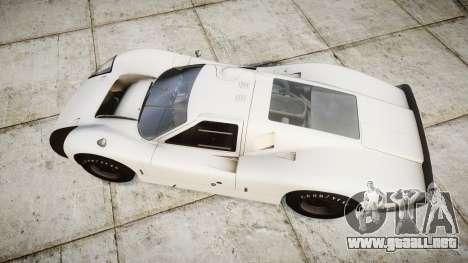 Ford GT40 Mark IV 1967 para GTA 4 visión correcta