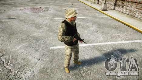 Medal of Honor LTD Camo1 para GTA 4 segundos de pantalla