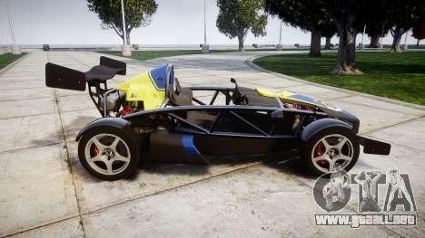 Ariel Atom V8 2010 [RIV] v1.1 Petrolos para GTA 4 left
