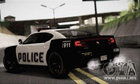 Bravado Buffalo S Police Edition (HQLM) para GTA San Andreas left