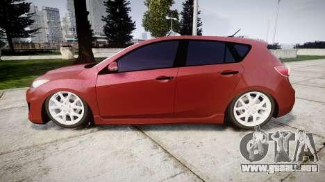 Mazda 3 MPS para GTA 4 left