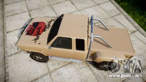 Vapid Bobcat Desert para GTA 4 visión correcta