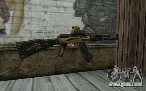 AK47 from PointBlank v2 para GTA San Andreas segunda pantalla