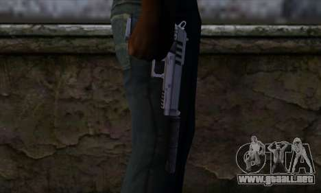 Silenced Pistol from GTA 5 para GTA San Andreas tercera pantalla