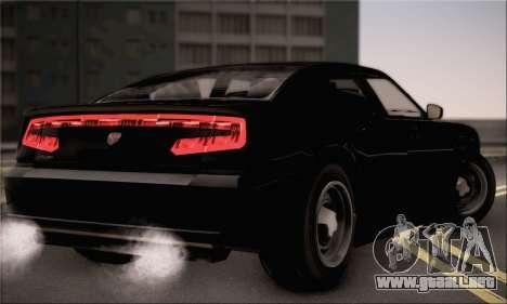 Bravado Buffalo S FIB para GTA San Andreas left