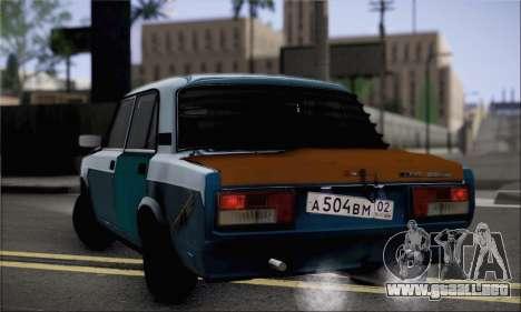 VAZ 2105 para GTA San Andreas left