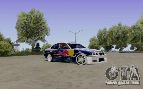 BMW E36 Red Bull para la visión correcta GTA San Andreas