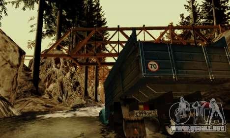 Pista de off-road 4.0 para GTA San Andreas novena de pantalla