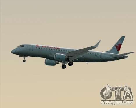 Embraer E-190 Air Canada para la vista superior GTA San Andreas