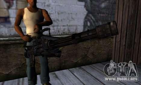Gun Volcano v1 para GTA San Andreas tercera pantalla