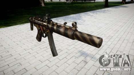 Pistola de MP5SD DRS CS para GTA 4