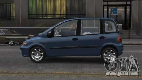 Fiat Multipla para GTA 4 left