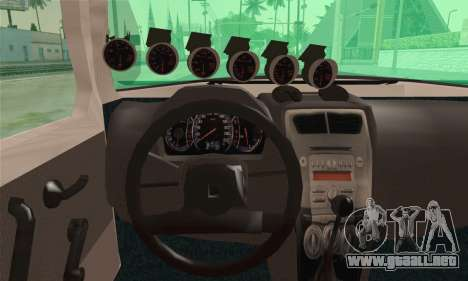 Daihatsu Mira Modified para GTA San Andreas vista posterior izquierda