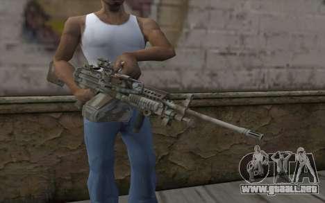 Minigun MK48 para GTA San Andreas tercera pantalla