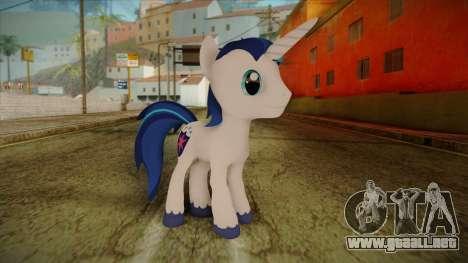 Shining Armor from My Little Pony para GTA San Andreas