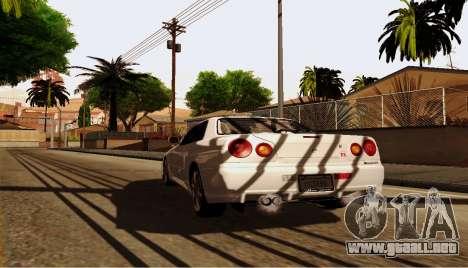 ENB para equipos débiles para GTA San Andreas séptima pantalla