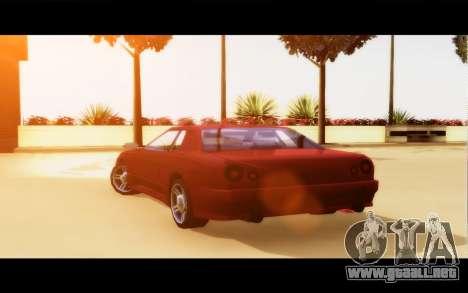 Elegy By Next para GTA San Andreas vista posterior izquierda