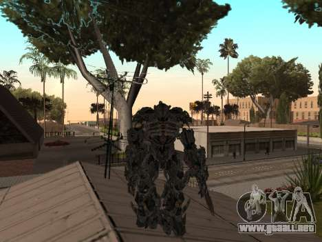Transformers 3 Dark of the Moon Skin Pack para GTA San Andreas octavo de pantalla