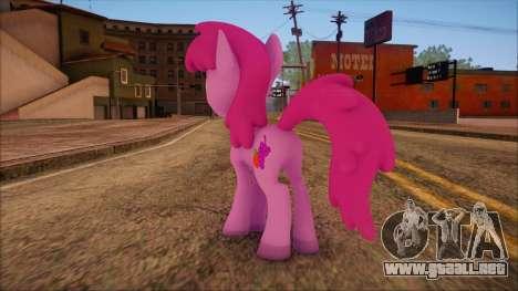 Berrypunch from My Little Pony para GTA San Andreas segunda pantalla