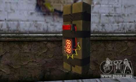 Stick Bomb from GTA 5 para GTA San Andreas