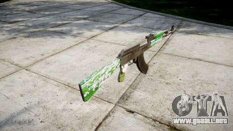 El AK-47 Ganado para GTA 4 segundos de pantalla