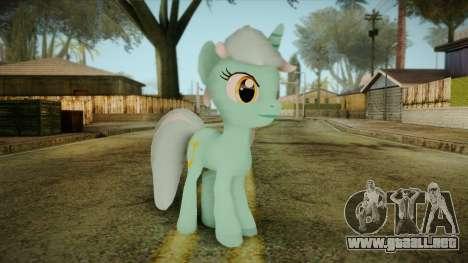 Lyra from My Little Pony para GTA San Andreas