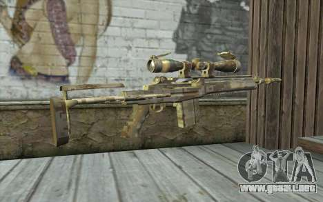 M14 EBR Digidesert para GTA San Andreas segunda pantalla