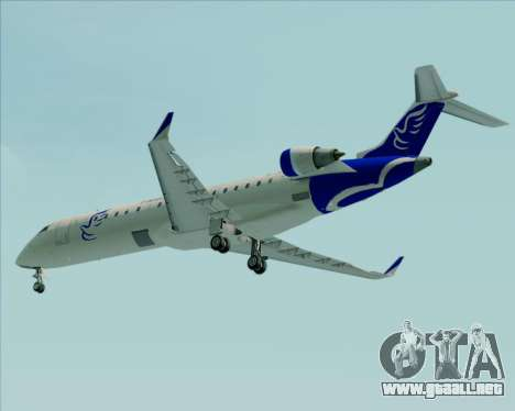 Embraer CRJ-700 China Express Airlines (CEA) para vista inferior GTA San Andreas