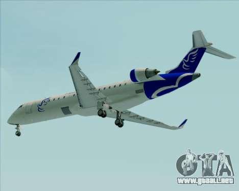 Embraer CRJ-700 China Express Airlines (CEA) para vista inferior GTA San Andreas