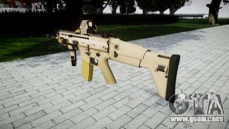 Máquina FN CICATRIZ-L Mc 16 de destino icon3 para GTA 4 segundos de pantalla