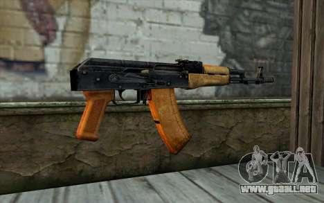 AKC74 Sin Tope para GTA San Andreas segunda pantalla