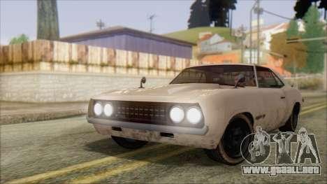 GTA 5 Vigero para GTA San Andreas